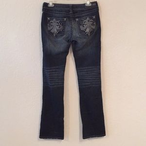 Affliction Jade Dark Wash Boot Cut Jeans